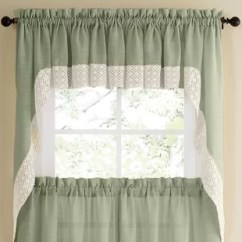 Swag Kitchen Curtains Portable Pantry Wayfair Quickview