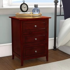 Semi Custom Kitchen Cabinets Reviews New Ideas Ovellette 3 Drawer Nightstand & | Birch Lane