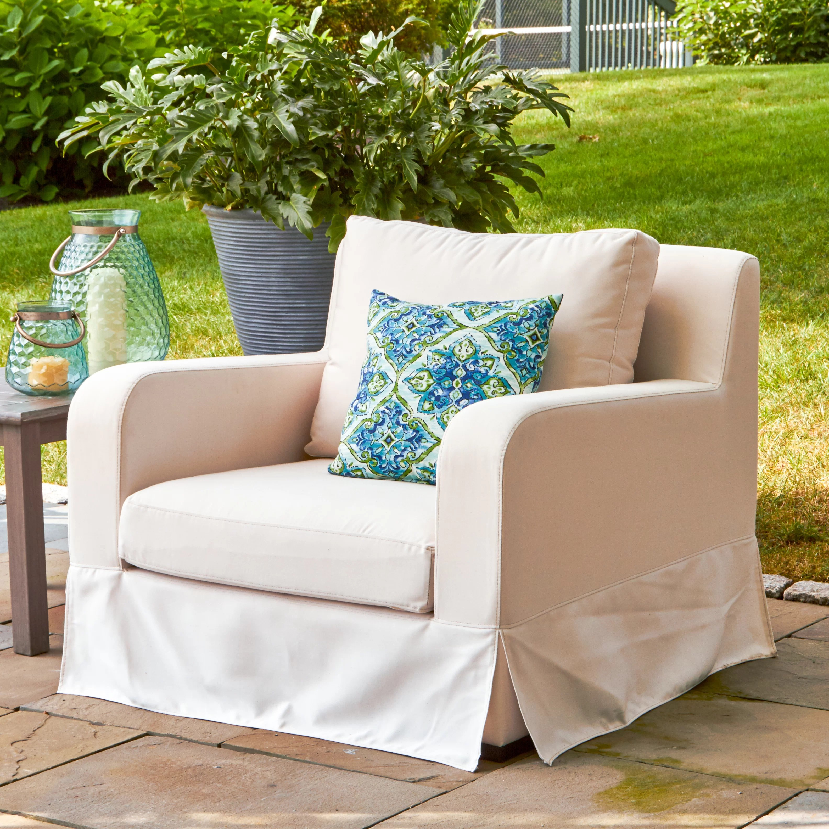Deck Chair Cushions Arney Lounge Chair With Cushions