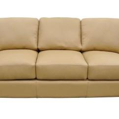 Albany Leather Sofa Modern For Apartment Omnia Wayfair