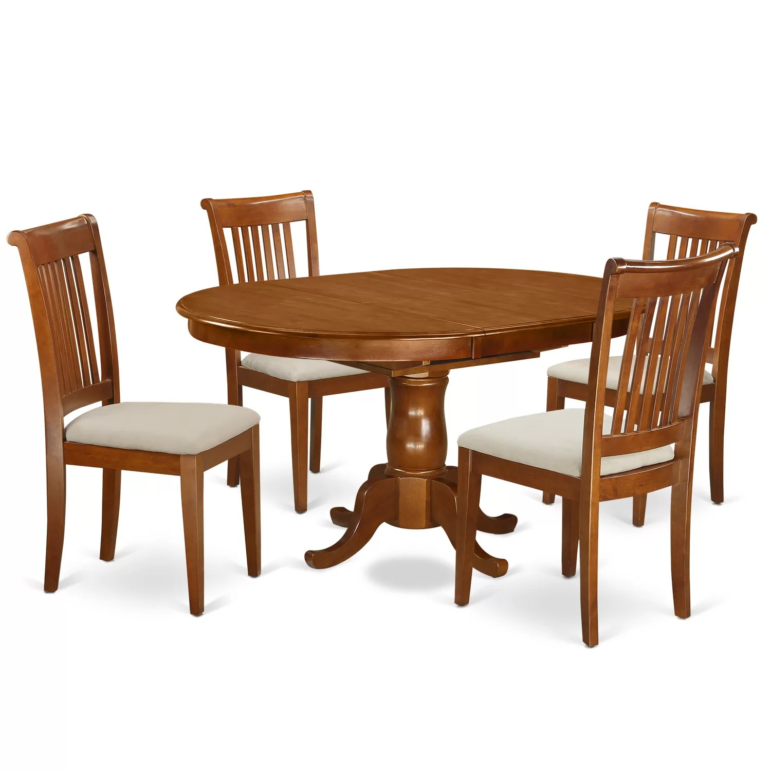 adirondack chairs portland oregon chair covers long east west 5 piece dining set and reviews wayfair