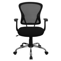 Swivel Office Chair With Wheels French Country Dining Chairs Arms You Ll Love Wayfair Quickview