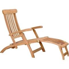 Teak Steamer Chair Stool Bar Wayfair Lounge