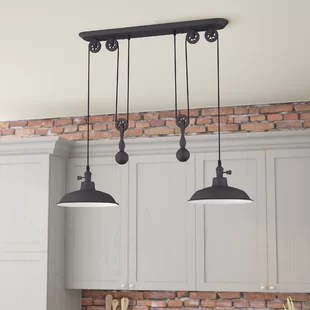 kitchen island pendant lights what is the average cost for cabinets lighting you ll love wayfair quickview