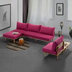 Pink Living Room Set Green Paint Sets You Ll Love Wayfair Quickview