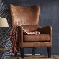 Gordon High Back Wingback Chair & Reviews