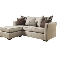 Simmons Reversible Chaise Sofa Contemporary Comfortable Araceli Upholstery Sectional Reviews Joss Main