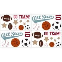 Sweet Jojo Designs All Star Sports Wall Decal & Reviews