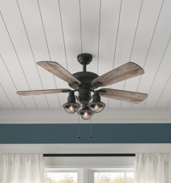 birch lane heritage 42 raymer 5 blade led ceiling fan light kit included reviews birch lane [ 2000 x 2000 Pixel ]
