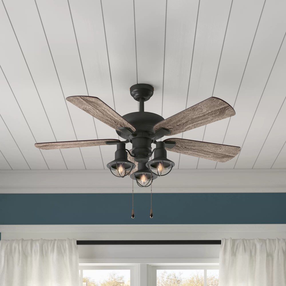 medium resolution of birch lane heritage 42 raymer 5 blade led ceiling fan light kit included reviews birch lane
