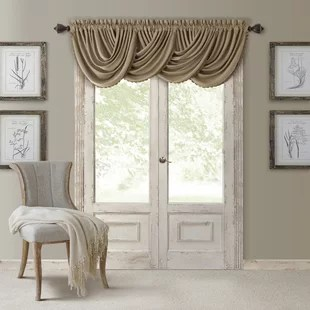 living room window valances sectional sofas sale curtain you ll love wayfair quickview