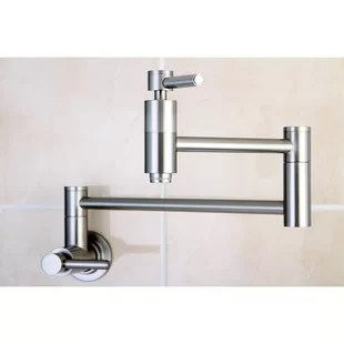 kitchen wall faucets walmart aid mixer mounted you ll love wayfair quickview