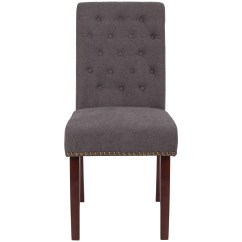 Gray Upholstered Dining Chairs Room Table And Chair Set Wayfair Quickview