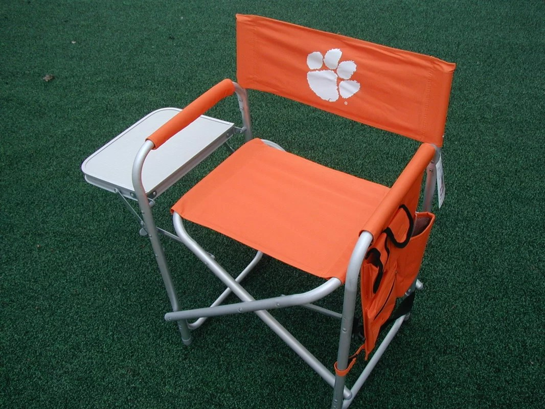 lsu folding chairs beach lounge chair cover rivalry ncaa camping and reviews wayfair ca