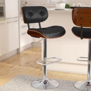 stool chair adjustable swing hook bar stools you ll love wayfair catina modern height swivel