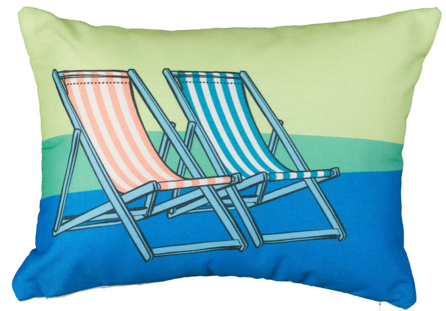beach chair pillow with strap red accent highland dunes linda double chairs lumbar wayfair