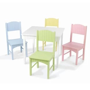 children table and chairs minnie mouse high chair walmart kids you ll love wayfair quickview