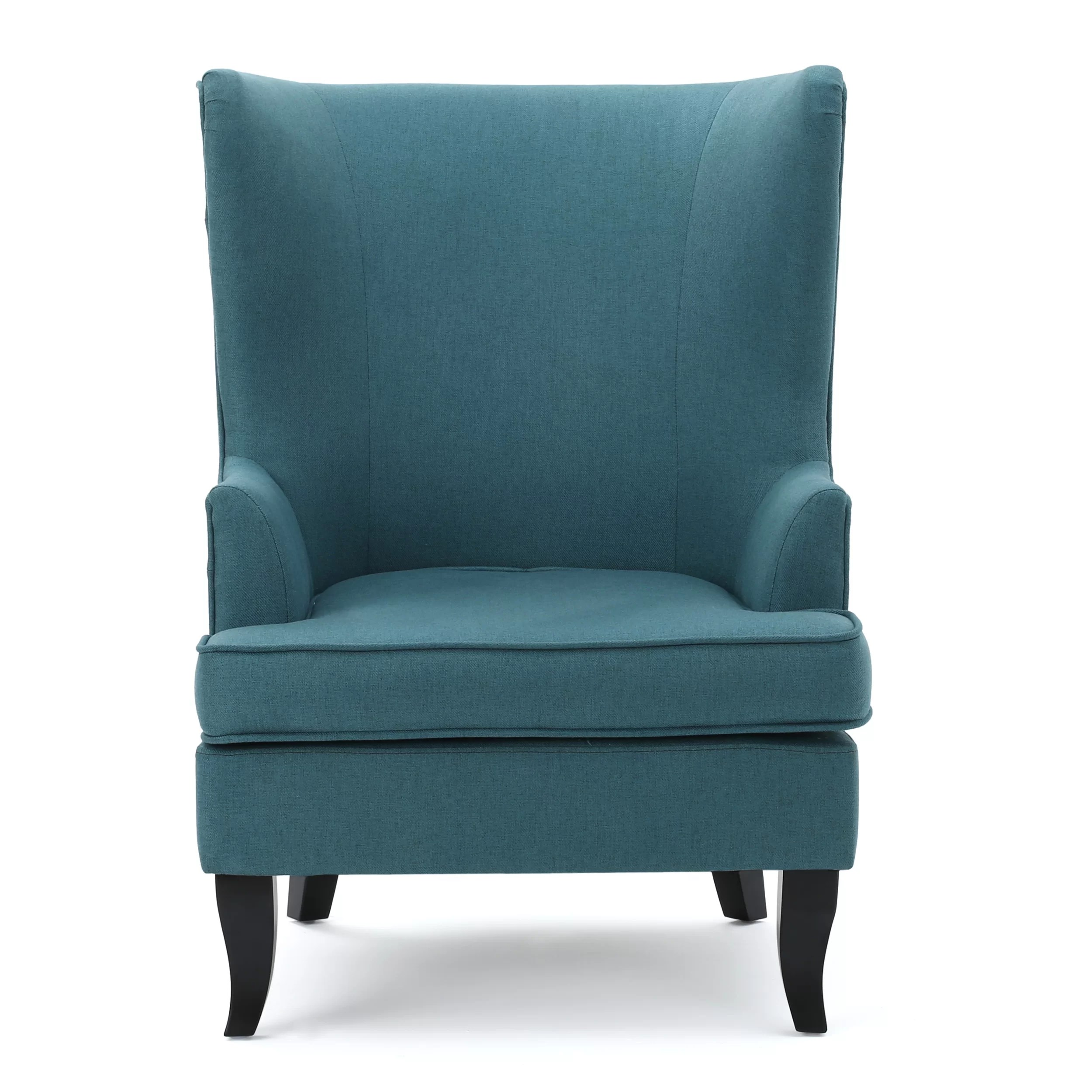 Teal Wingback Chair Daughtrey Wingback Chair