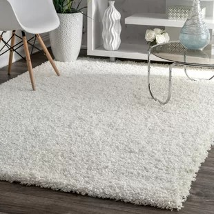 cheap living room carpets brown paint colors for area rugs you ll love wayfair ca welford shag rug