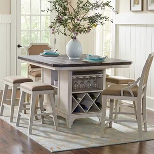 kitchen high chairs chair design quotes island 24 wayfair georgetown set