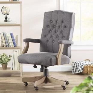 feminine executive office chairs desk chair design within reach fabric you ll love wayfair quickview