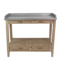 Kitchen Prep Table Ikea Island Station Wayfair Elvis Bar Cart