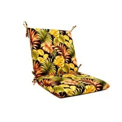 High Back Lawn Chair Cushions With Light Tropical Floral Iron Indoor Outdoor Lounge Cushion Compare Similar Items Current Item