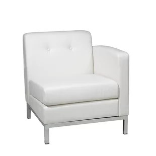 leather chrome chair borge mogensen and wayfair quickview