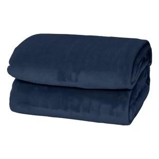 thick fleece blanket wayfair