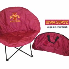 Lsu Folding Chairs Electric Recliner Chair Rivalry Ncaa Camping And Reviews Wayfair