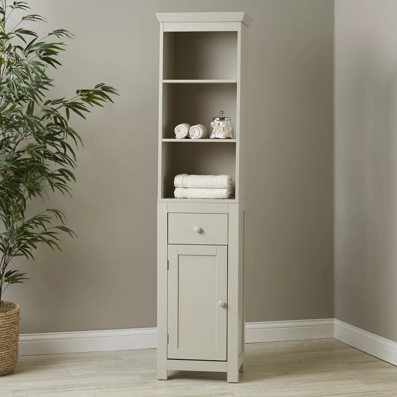 Birch Lane Caraway Bathroom Storage Cabinet  Reviews  Wayfair