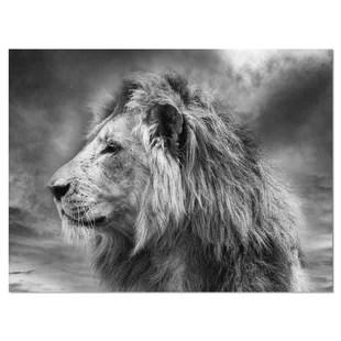 lion wall art you