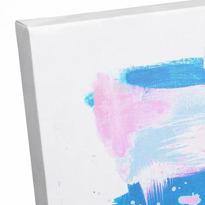 abstract pastel splash acrylic