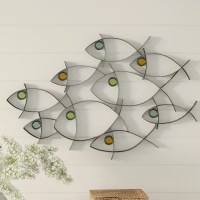 School Of Fish Wall Decor | Wayfair