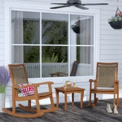 Rustic Outdoor Chairs High Bar Patio Conversation Sets You Ll Love Wayfair Quickview