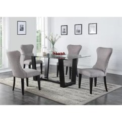 Kitchen Glass Table Baxton Studio Cart Rubberwood Dining Room Sets You Ll Love Wayfair Save