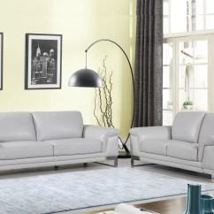 Luxury Leather Living Room Sets Dividing Doors Uk Orren Ellis Lara Italian 2 Piece Set Wayfair