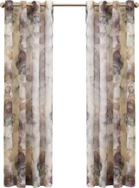 No. 918 Andorra Watercolor Nature / Floral Sheer Grommet