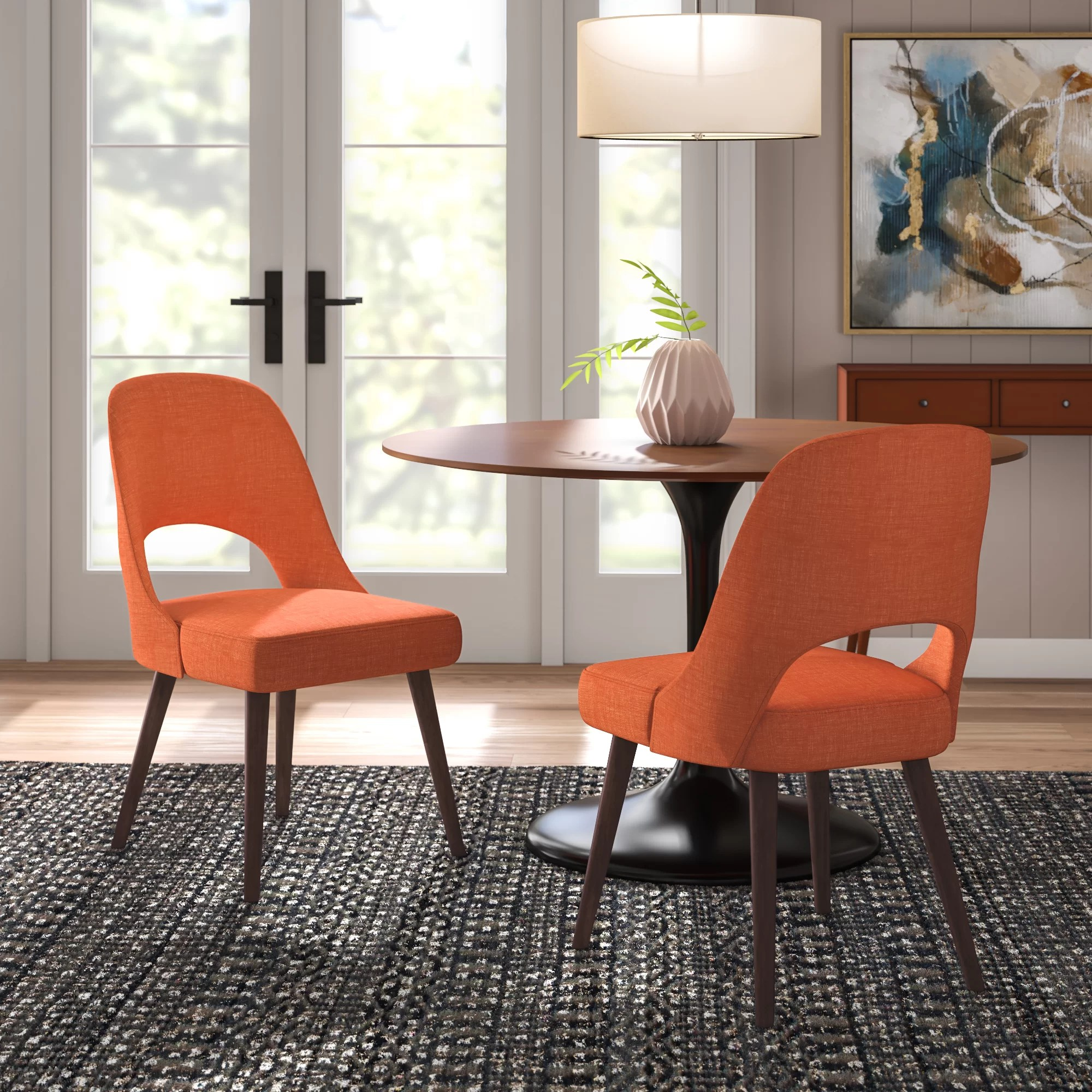 Dining Room Upholstered Chairs Berardi Upholstered Dining Chair