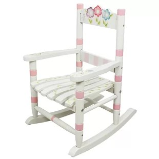 small rocking chairs fit gym ball chair wayfair bouquet kids