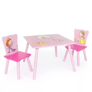 childrens table and chairs gold universal chair covers children s tables sets you ll love wayfair co uk 3 piece set