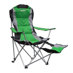 Folding Chair With Footrest Rattan Repair Kit Gigatent Camping Reviews Wayfair