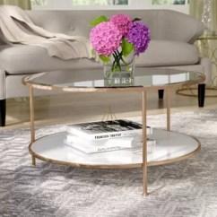 Living Room Round Table Curtains Modern Coffee Tables You Ll Love Wayfair Ca Jamiya