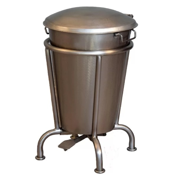 William Sheppee Saloon 13 Gallon Step Trash