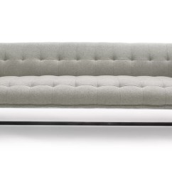 Savoy Leather Sofa Restoration Hardware Portable Armrest Contemporary Chesterfield Trend Alert The Modern ...