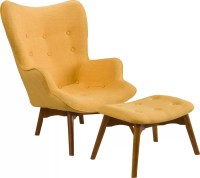 Langley Street Canyon Vista Mid-Century Wingback Chair Set ...