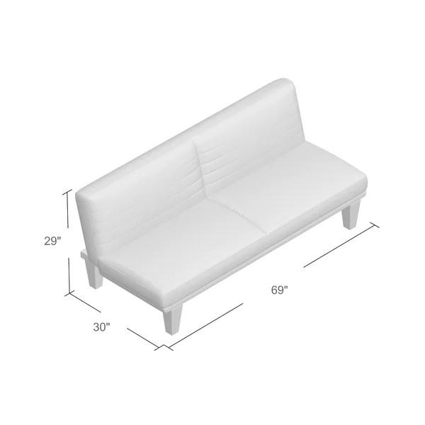 bianca futon sofa bed review company zipcode design convertible reviews wayfair
