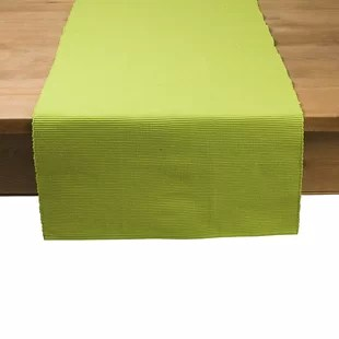 green table runners you