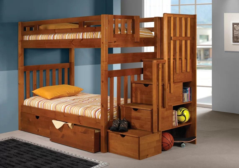 Diy Kids Loft Bed With Storage Novocom Top