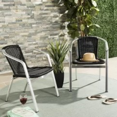 Metal Outdoor Chair Skirted Parsons Furniture Birch Lane Quickview